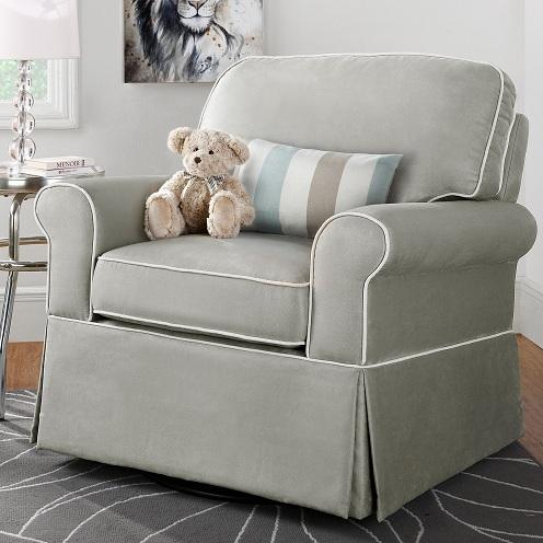 9 Best & Comfortable Nursing Chairs - Swivel Nursery Chair