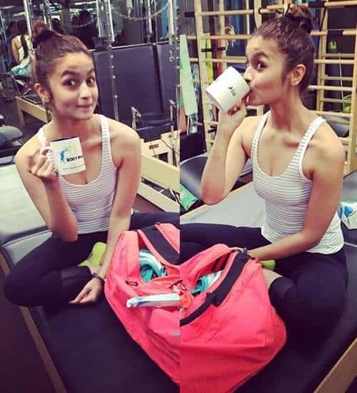 Alia Bhatt Top Knot Hairstyles