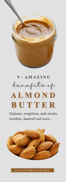 almon butter benefits