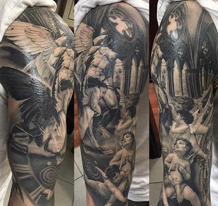 Female Special Baroque Tattoo