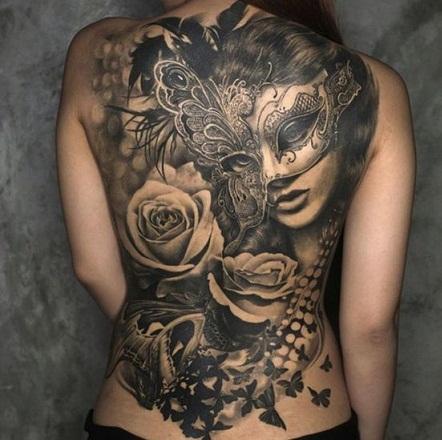 Sumptuous Baroque Tattoo