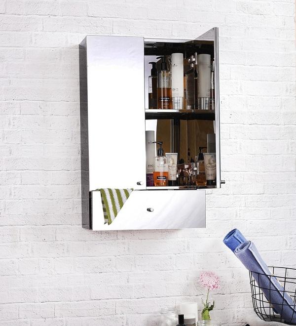 latest bathroom mirror cabinet designs