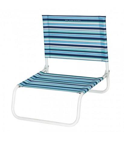 Stripy Pattern Folding Beach Chair