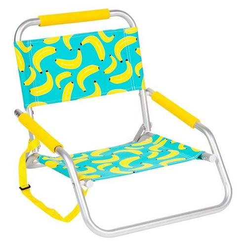 Fruit Printed Beach Chairs