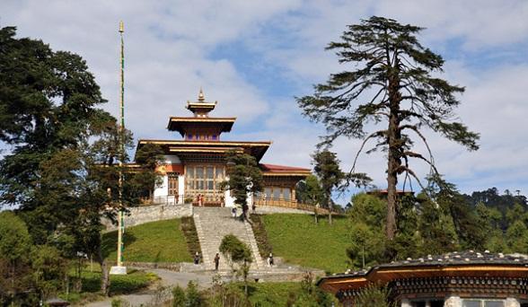 Bhutan Tourist Places-Zango Pelri Temple