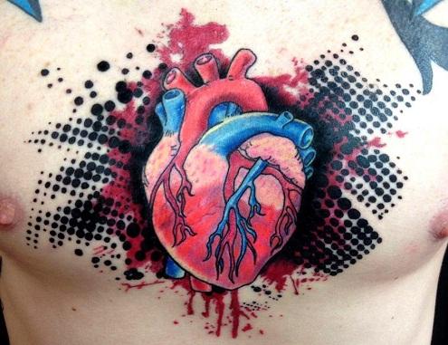 Convincing Bio Organic Tattoo Design