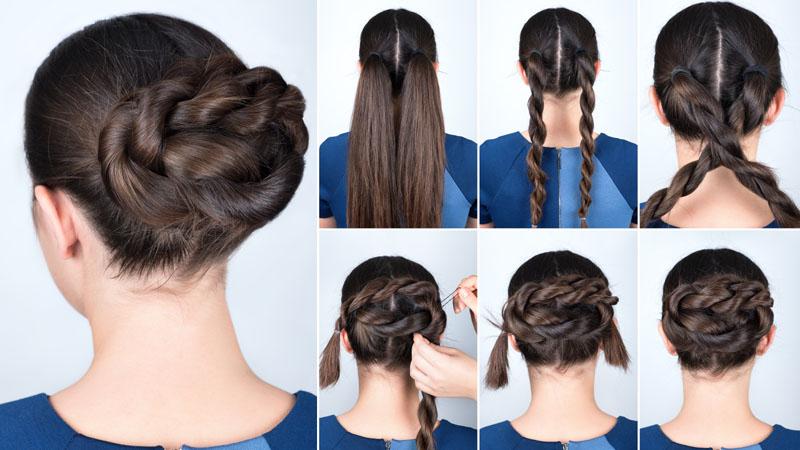 Chignon Bun Hairstyles 1