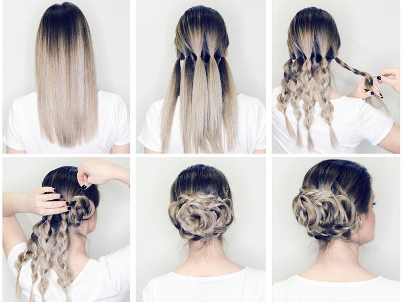 Chignon Bun Hairstyles 2