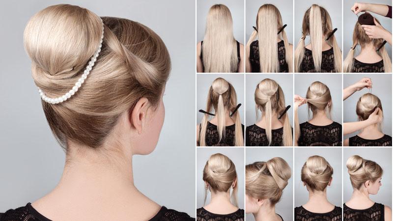 Chignon Bun Hairstyles 5