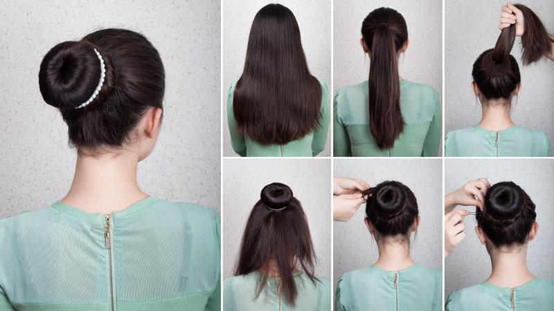 Chignon Bun Hairstyles 6