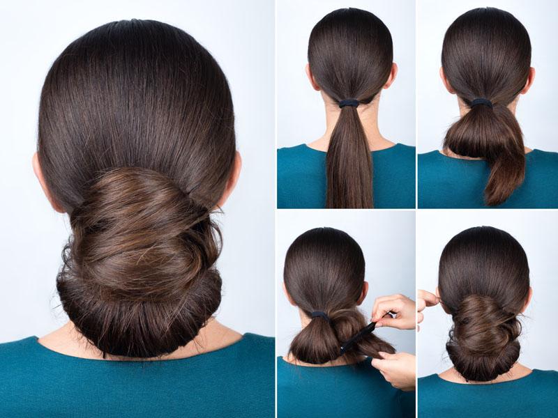 Chignon Bun Hairstyles 7