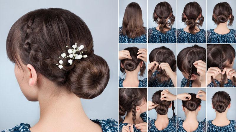 Chignon Bun Hairstyles 8