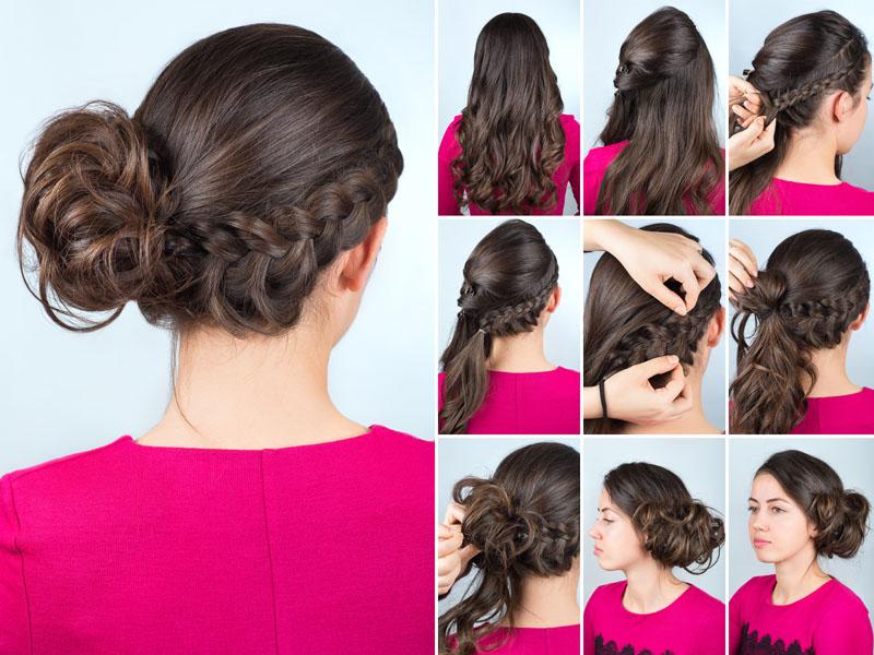 Chignon Bun Hairstyles 9