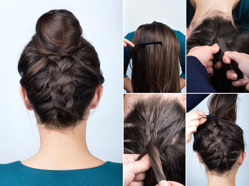 Chignon Bun Hairstyles 10