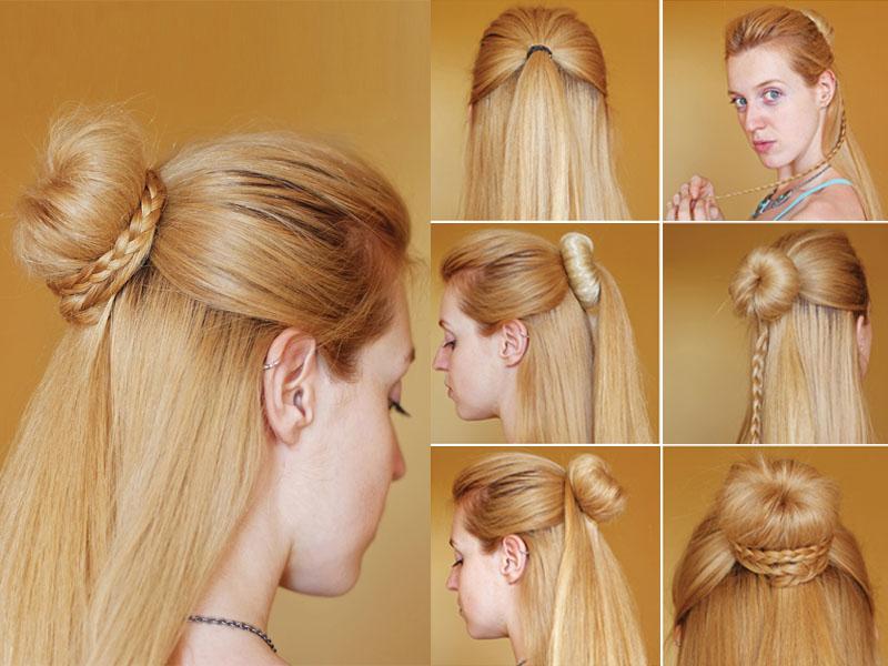 Chignon Bun Hairstyles