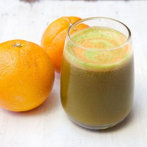 Cucumber Juice with Orange