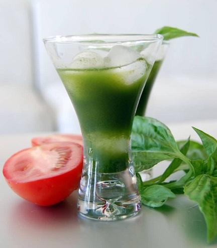 Cucumber Juice with Tomato