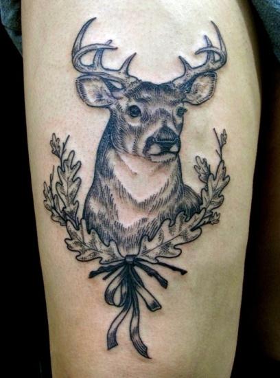 Deer Tattoo 3