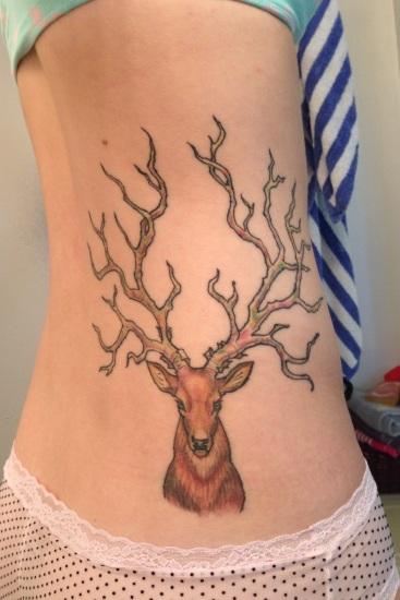 Deer Tattoo 4