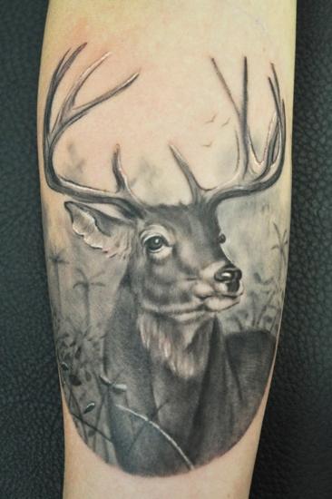 Deer Tattoo 5