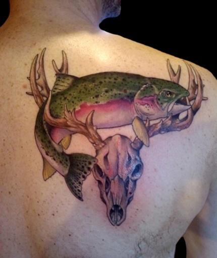 Deer Tattoo 6