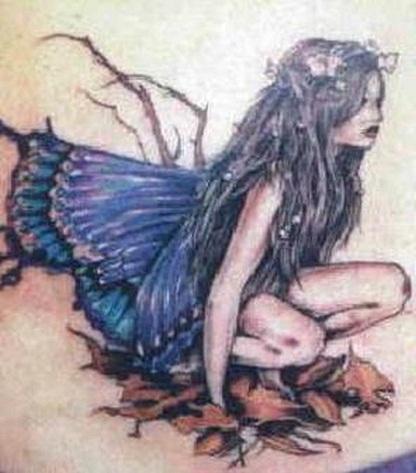 Fantasy Angel Tattoo