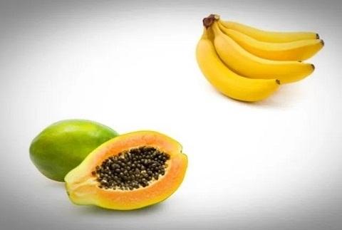 Papaya and Banana Whitening Face Pack