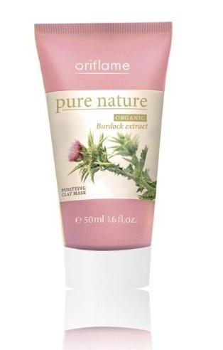 Oriflame Pure Nature Organic Burdock Exact Purifying Face Mas
