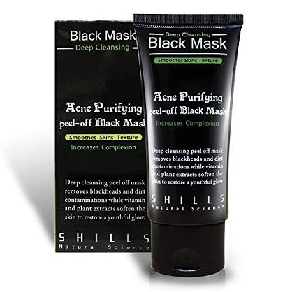 Shills Bamboo Charcoal Oil Control Blackhead Remover Peel off Mask