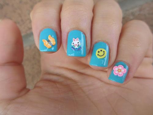 Cute Fimo nails