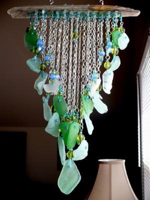 Glass Chime Glass Craft
