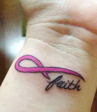 Simple Cancer Tattoo Design