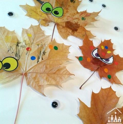Leaf Monster Craft