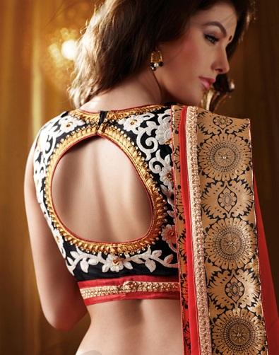 Circular Back Design