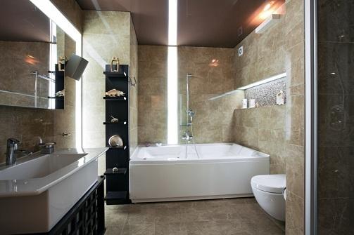 The Evergreen Style Luxury Bathroom Designs