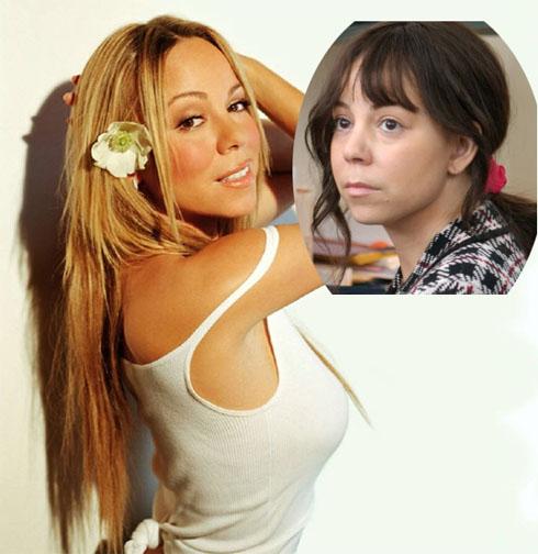 Mariah Carey without makeup 7