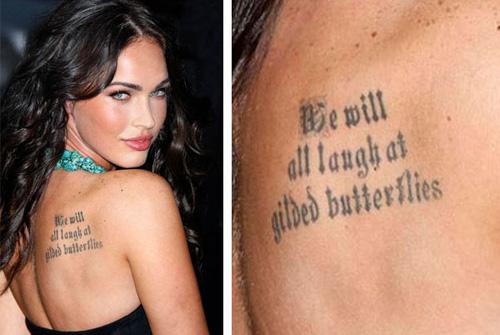 William Shakespeare Tattoo