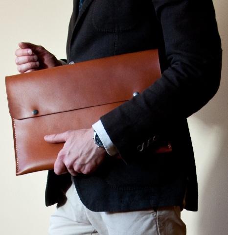 Folio Leather Bag