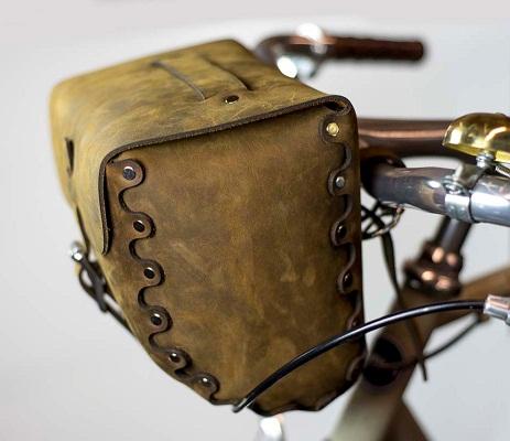 Front Handler Saddle Bag