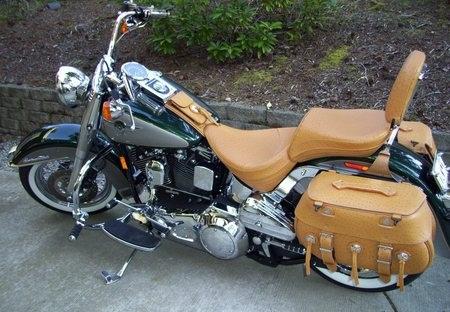 Custom Matching Saddle Bags for Bikes
