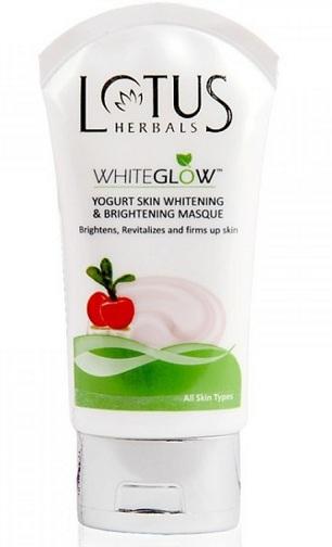Lotus Herbals White Glow Yogurt Skin Whitening and Brightening Masque