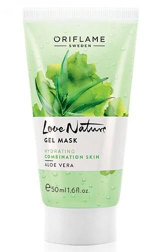 Oriflame Love Nature Gel Mask Aloe Vera