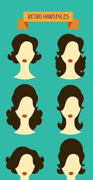Retro Hairstyles Main Image