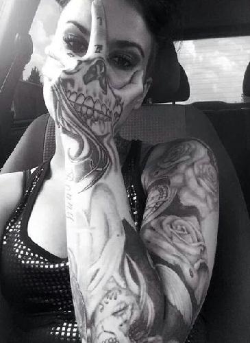 Innovative Scary Tattoo