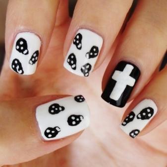 9 Best Skull Nail Art Designs