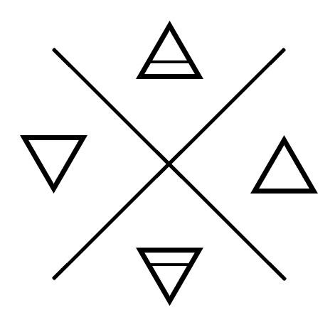 Water Symbol Tattoo Design in Spiritual
