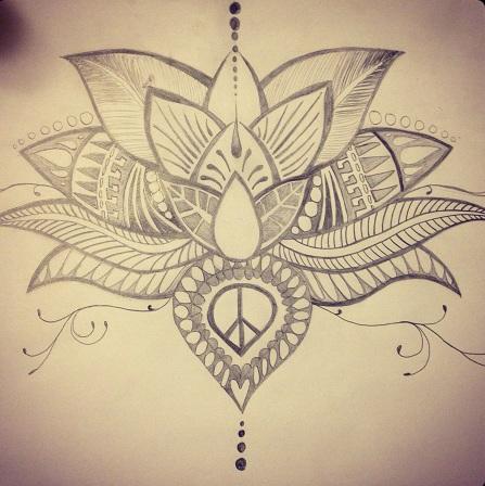 Lotus Spiritual Tattoo