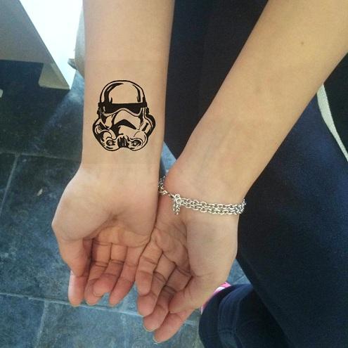 Temporary Star Wars Tattoo