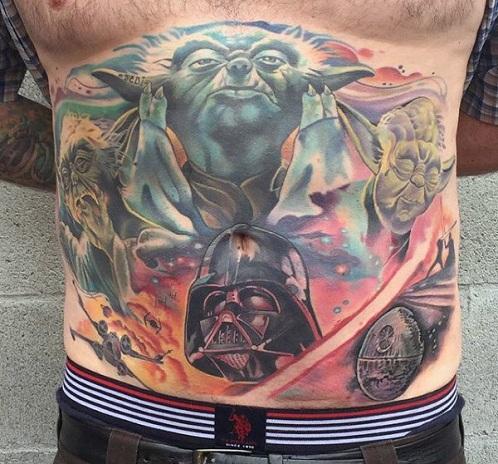 Full Star Wars Tattoo