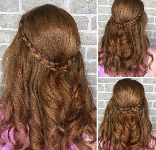Bohemian Wedding Hairstyle